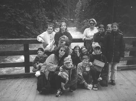 Na szkolnej wycieczce w Zakopanem.