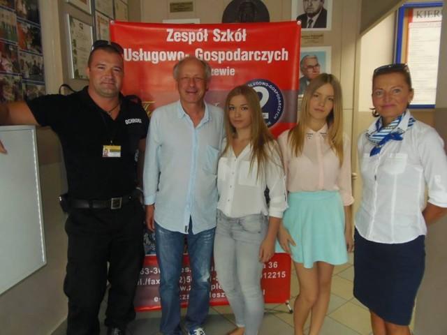 Paweł Wawrzecki w ZSU-G w Pleszewie
