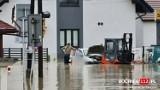 Nocna ulewa wyrządziła ogromne straty w kilku małopolskich gminach. Łapanów znowu znalazł się pod wodą