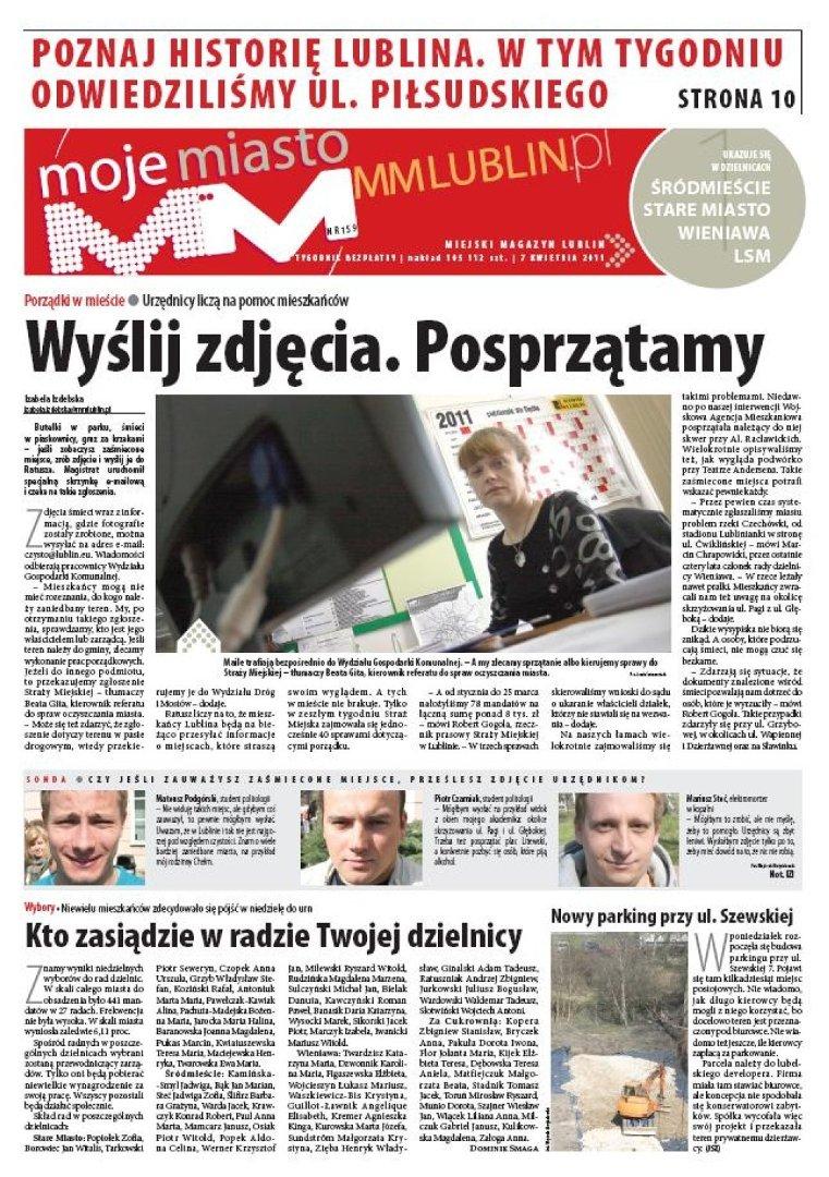 W Czwartek 7 Kwietnia W Papierowym Wydaniu Mm Moje Miasto Lublin
