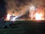 Nocna rekonstrukcja Bitwy pod Olszewem (zdjęcia)