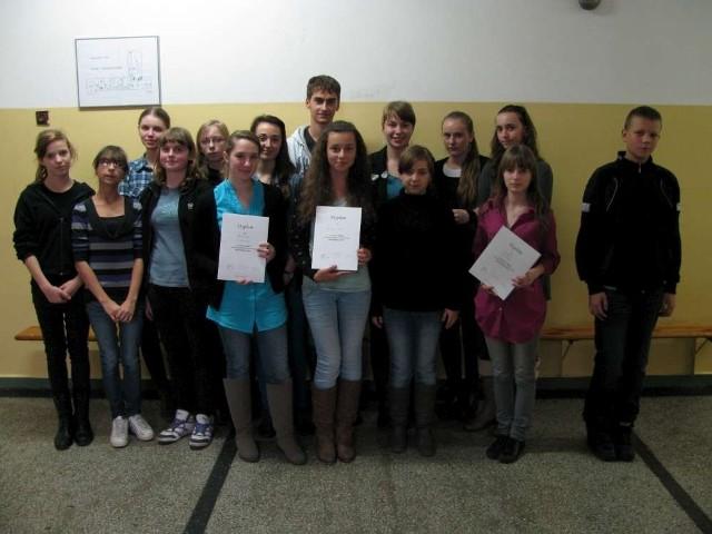 Uczniowie Gimnazjum Recytowali Swoje Ulubione Wiersze