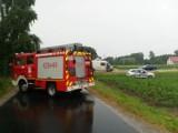 Wypadek z udziałem busa w Kolnie. Jedna osoba w szpitalu. Zdjęcia