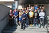 Policjantów w Przemyślu odwiedzili uczniowie z II Liceum Ogólnokształcącego [ZDJĘCIA]