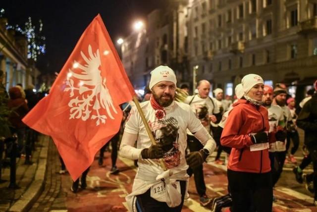 Uczestnicy Biegu Powstania Wielkopolskiego przed rokiem