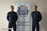 Nowi posterunkowi w Krośnie Odrzańskim. Ich życiowym celem było zostanie policjantem. Co mówią o początkach pracy w mundurze?