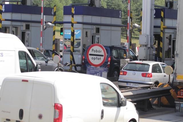 Bramki na A4 w Mysłowicach