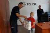 Wodzisław Śl.: 9-letni Arek pomógł złapać złodzieja. Dostał nagrodę od policji