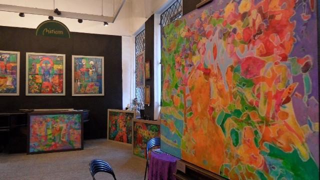 Wystawa malarstwa Beaty Wąsowskiej w Galerii Miriam w Tychach