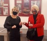Reneta Nowakowska dyrektor Przemyskiego Centrum Kultury i Nauki ZAMEK wyróżniona przez Fundację WOŚP