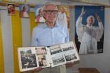 Wągrowiec. Jan Ciaciuch w piwnicy swojego domu stworzył izbę pamięci o Janie Pawle II