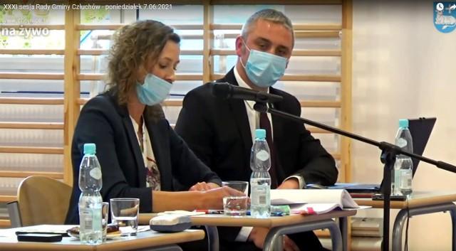 Sesja absolutoryjna Rady Gminy Człuchów w 2021 roku