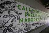Mural dla Puszczy Białowieskiej. Nad Wisłą powstało wyjątkowe dzieło ku czci obrońców lasu