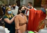 Bierzmowanie w parafii św. Mikołaja w Wolborzu
