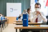 Pierwszy dzień matur w Gdyni. Egzamin w reżimie sanitarnym