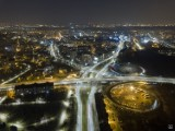 Śląsk i Zagłębie zachwycają nocą! Zobacz te WSPANIAŁE fotografie miast wykonane dronem. To jest magia!