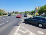 Nie wszyscy kierowcy potrafią wyjechać z CH Jantar na ulicę Szczecińską [ZDJĘCIA]