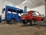 WOŚP 2019. Maluch wyremontowany przez Szejner Motors jedzie do Warszawy (ZDJĘCIA)