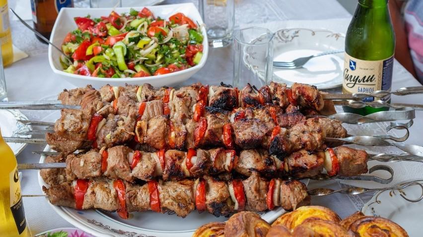 Kawałki mięsa, ryb i warzyw można grillować bez obaw, że...