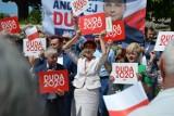 Europosłanka na Plantach, kampania prezydencka w Goleniowie [ZDJĘCIA]