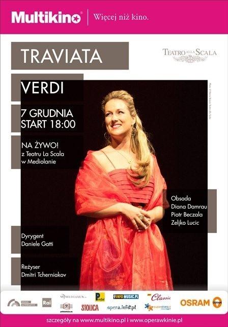 Opera Traviata w Multikinie