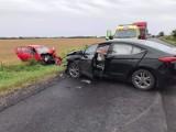 Gmina Mogilno - Wypadek na DK 15 pod Mogilnem. Droga całkowicie zablokowana