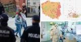 """Strefy"""" pandemiczne w Śląskiem? Tam sytuacja jest coraz poważniejsza! Zobacz MAPĘ"""