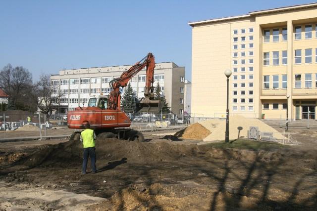 Remont Akademickiej w Gliwicach