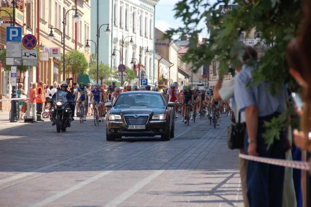 Dotąd kolarze ścigający się w Tour de Pologne byli w Tarnowie dwukrotnie - w 2013 i 2014 roku