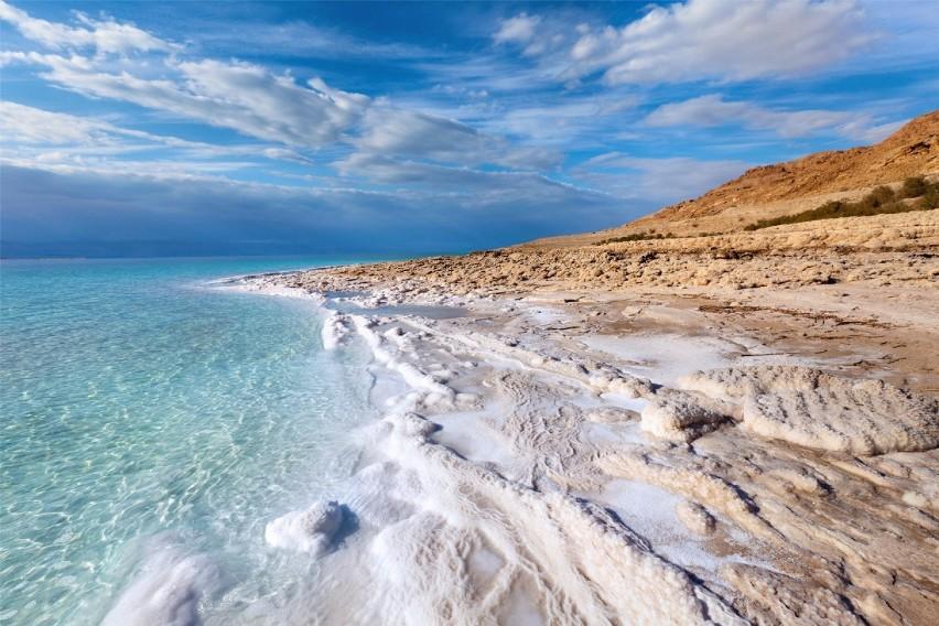 Morze Martwe Morze Martwe kurczy się z roku na rok. 1/3...