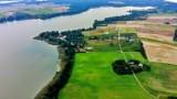 Tak wygląda Jezioro Głuszyńskie z drona. Zobaczcie zdjęcia