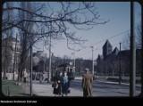 Obejrzyj unikalne fotografie Poznania z 1959 roku. Autorem kolorowych zdjęć z końca lat 50. jest wysłannik rządu Stanów Zjednoczonych