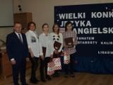 Druga edycja Wielkiego Konkursu Języka Angielskiego pod patronatem Starosty Kaliskiego w Liskowie FOTO