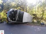 Policja poszukuje uczestnika wypadku pod Kobylinem [ZDJĘCIA]