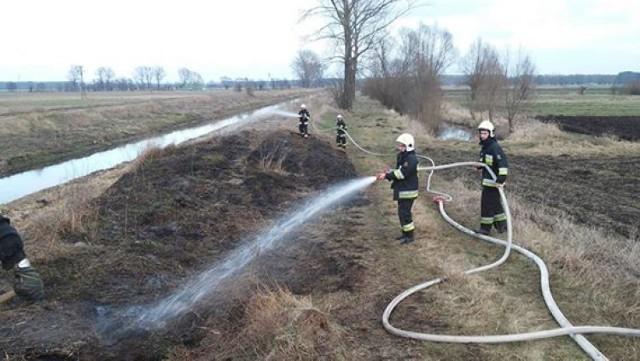 Pożar w Wilkowie Polskim FOTO