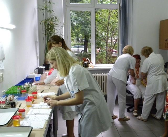 Fachowa i sprawna obsługa pielęgniarska pozwoliła na zminimalizowanie czasu badań