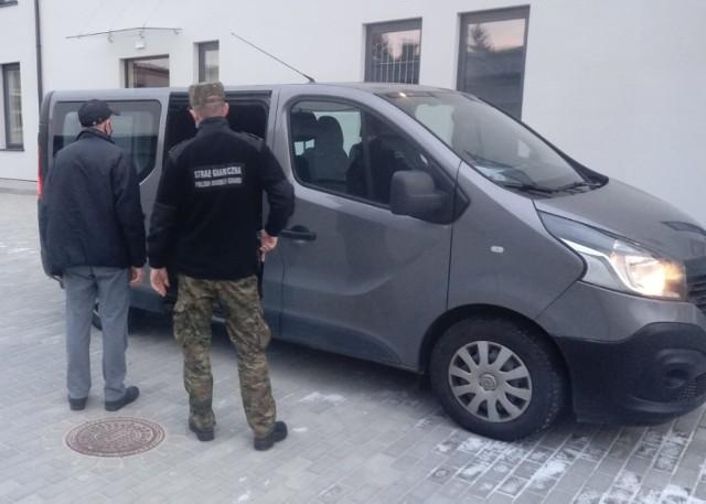 Obywatel Ukrainy został zatrzymany i zobowiązany do opuszczenia Polski