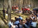 Strażacy z Ostrzeszowa wizytowali obozy letnie w Marydole i Przedborowie