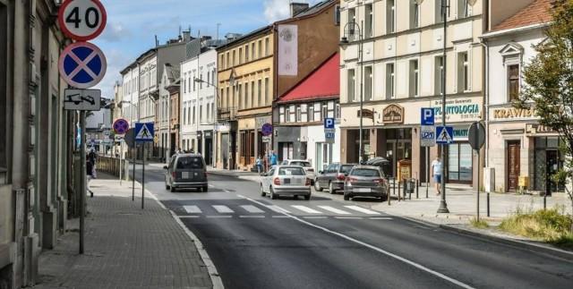 Tak dziś wygląda ul. Poznańska. Dyrektor Miejskiej Pracowni Urbanistycznej w Bydgoszczy proponuje, aby ruch prowadzony obecnie ulicami Wierzbickiego i Poznańską, przenieść na ul. Grudziądzką.
