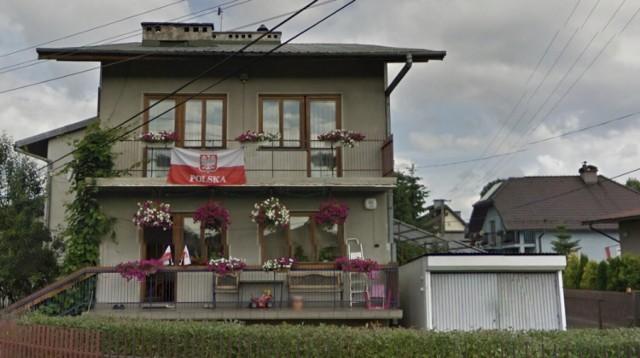 Balkony sądeczan w Google Street View