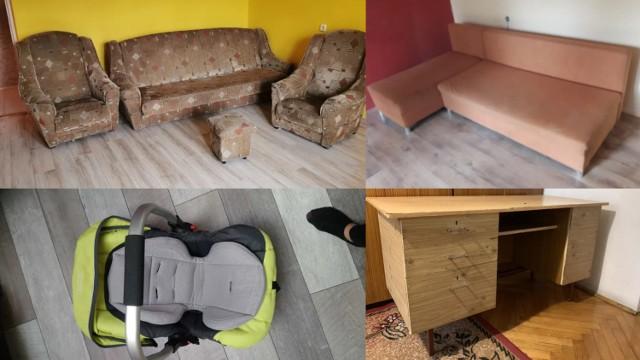 """Te rzeczy możesz mieć całkowicie za darmo! Wszystkie przedmioty pochodzą z serwisu OLX.pl. W kategorii """"oddam za darmo"""" znajdziemy setki ubrań, gruz, drewno i inne, raczej nieprzydatne rzeczy, jednak można znaleźć tam naprawdę wartościowe przedmioty. Mieszkańcy Rzeszowa i okolic oddają bezpłatnie sprawne sprzęty RTV i AGD, meble, opony i inne."""