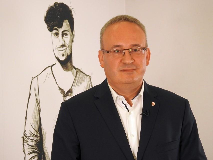 Mirosław Karolczuk, burmistrz Augustowa - 51,19 proc. poparcia