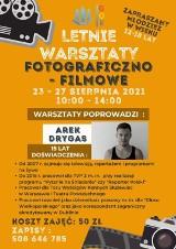 Kobylin: Arkadiusz Drygas poprowadzi warsztaty fotograficzno-filmowe