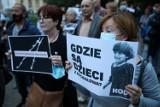 Kraków. Protest KOD po wydarzeniach na polsko-białoruskiej granicy [ZDJĘCIA]