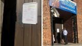 Plakat na drzwiach kościoła w Kościanie oburzył jego mieszkańców. O sprawie chcą powiadomić Prymasa Polski