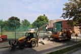 Trwa remont ul. Powstańców Śląskich w Brzegu. Widać już efekty prac [ZDJĘCIA]
