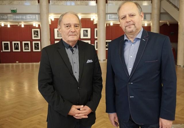 Obecni szefowie Teatru Wielkiego w Łodzi - (na zdjęciu   od lewej)   Tadeusz Kozłowski oraz  Krzysztof Marciniak