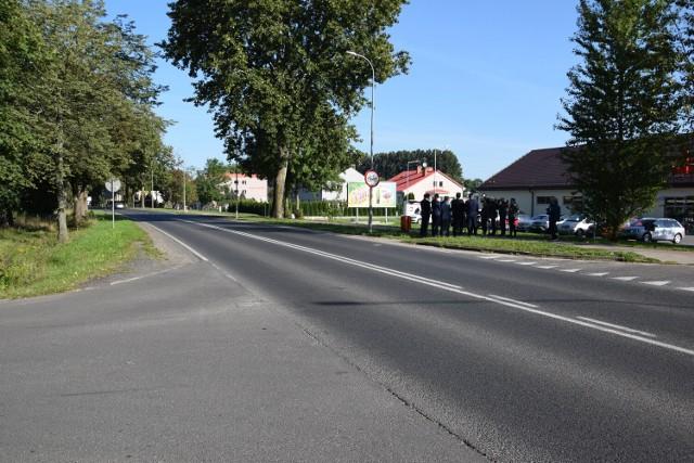 Przejście dla pieszych na ulicy Narutowicza powstanie w tym miejscu