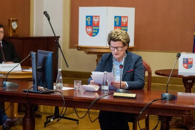 Bernadetta Gąsiorek została wybrana przewodniczącą rady powiatu po raz drugi