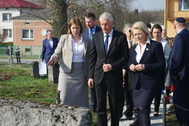 Sekretarz Rady Europy złożył wizytę we Frampolu